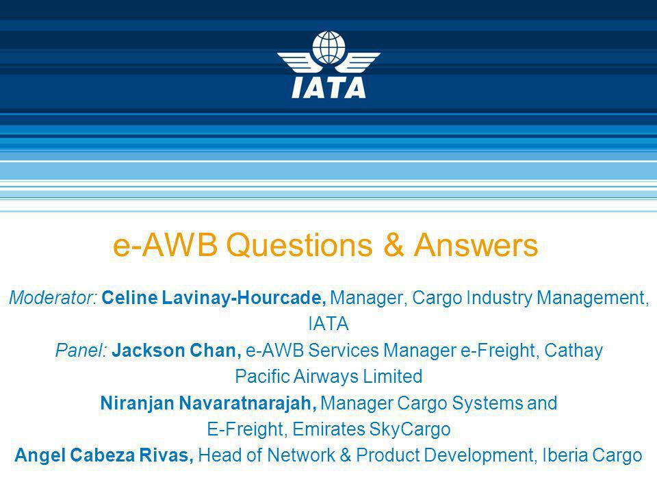 e-AWB Questions & Answers