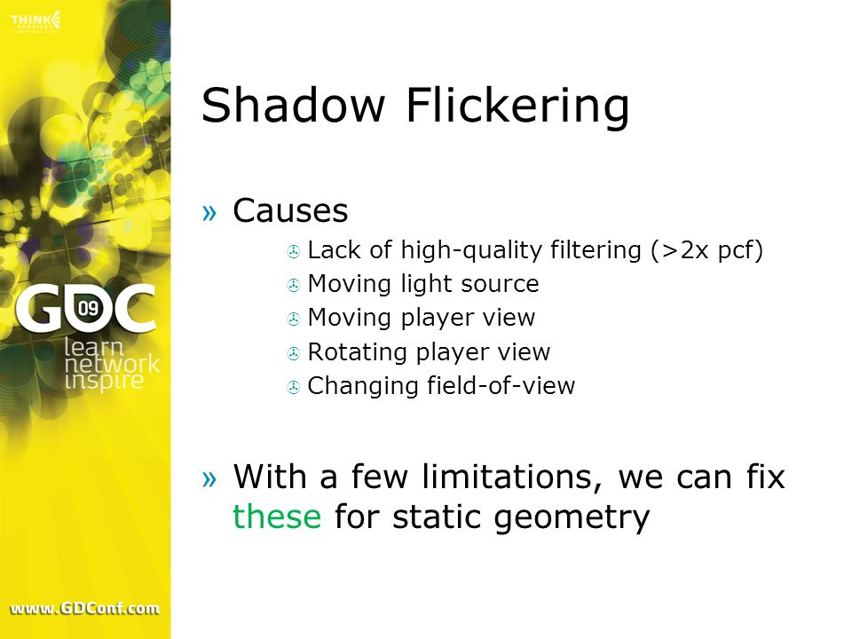 Shadow Flickering Causes