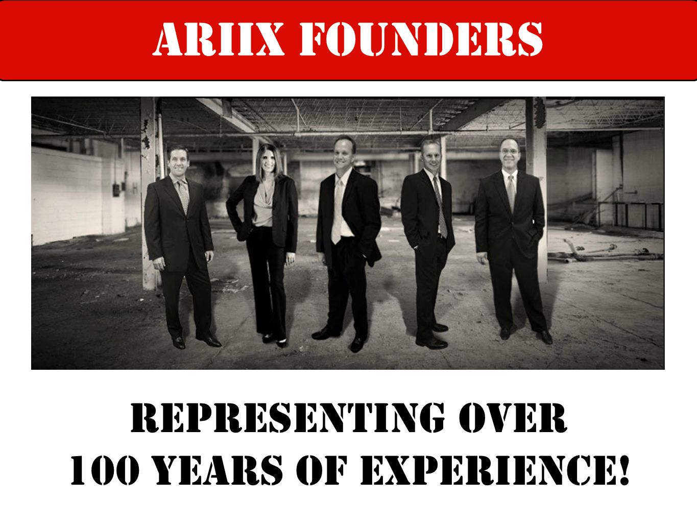 ARIIX Founders ariix leadership team Representing over