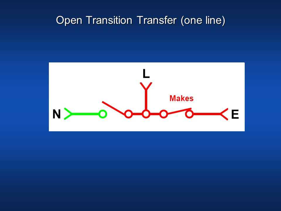 Open Transition Transfer (one line)