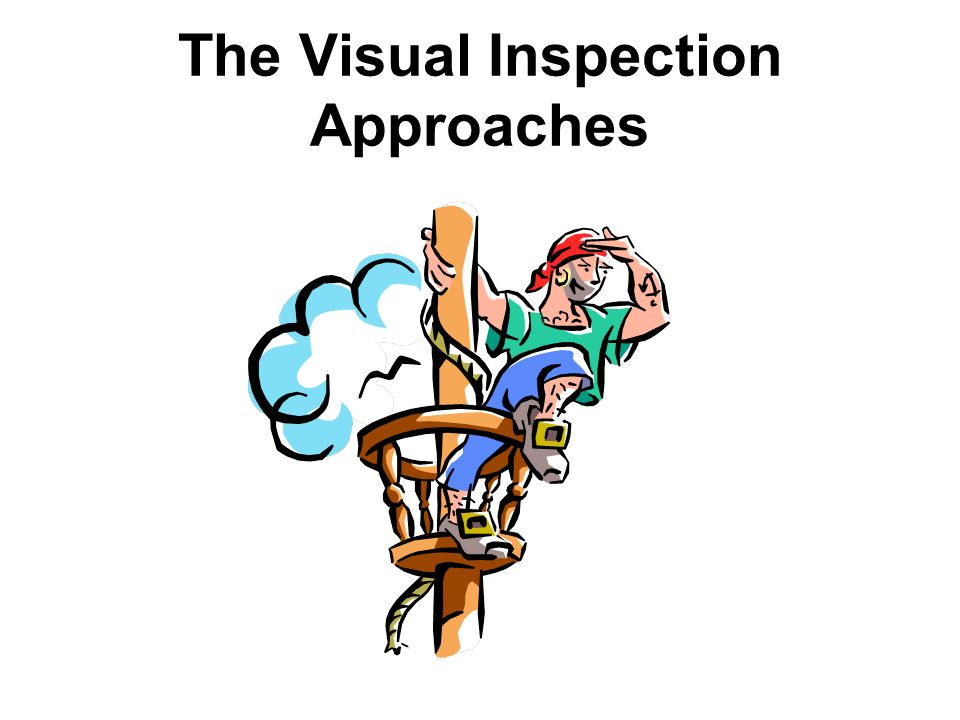 The Visual Inspection Approaches