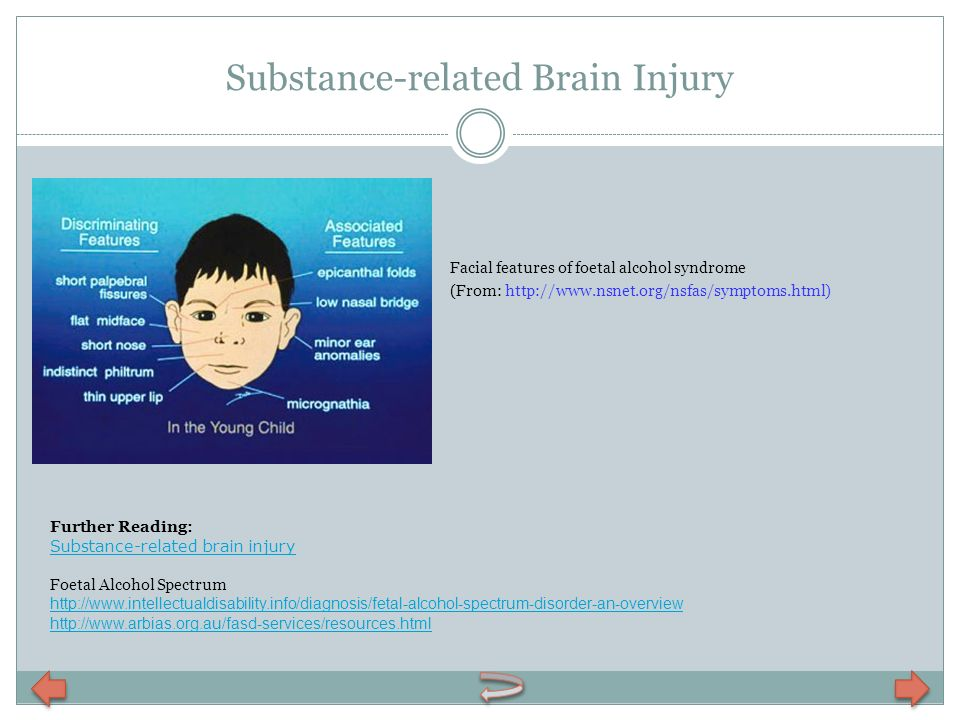 Substance-related Brain Injury