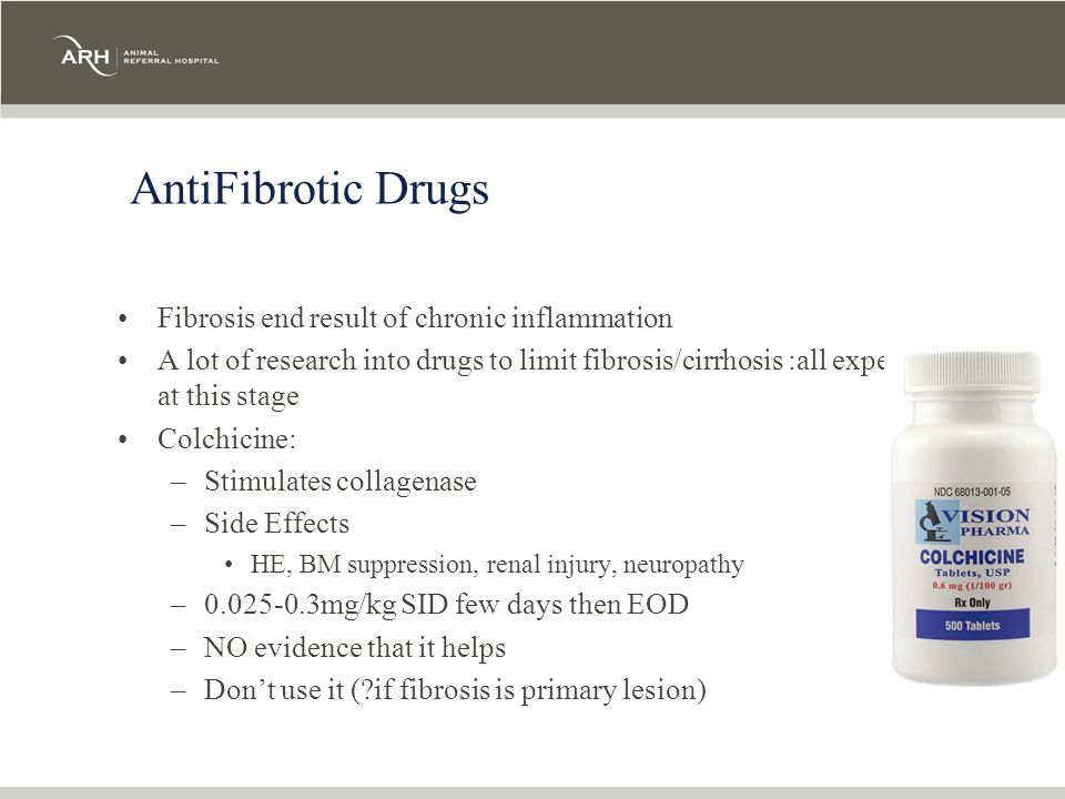 AntiFibrotic Drugs Fibrosis end result of chronic inflammation
