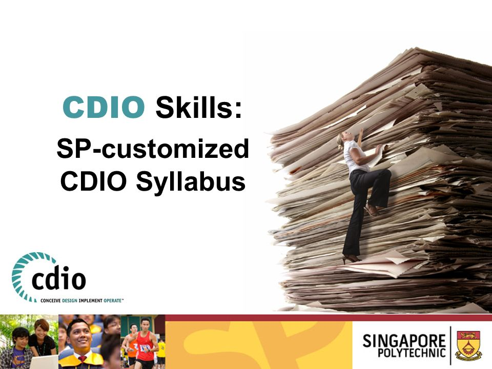SP-customized CDIO Syllabus