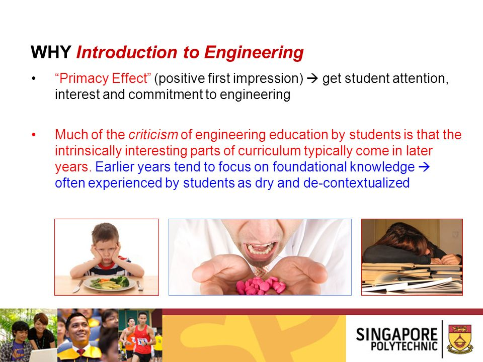 WHY Introduction to Engineering