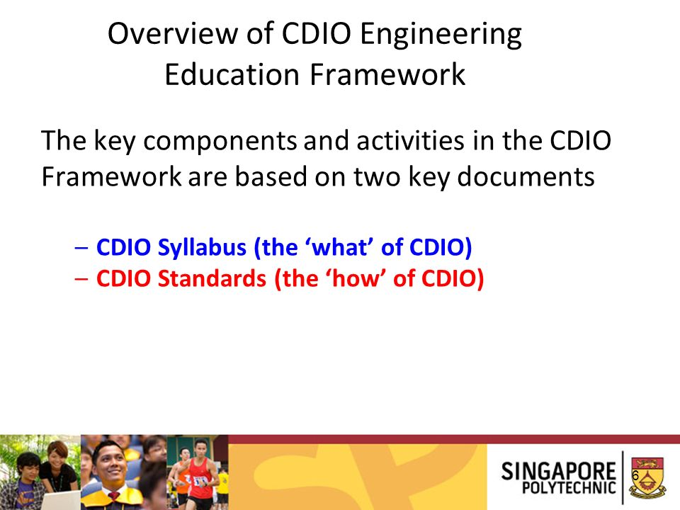 Overview of CDIO Engineering Education Framework