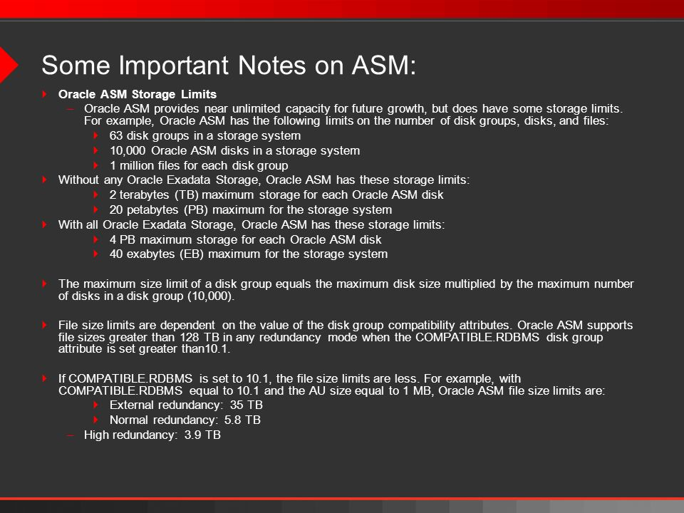 Some Important Notes on ASM:
