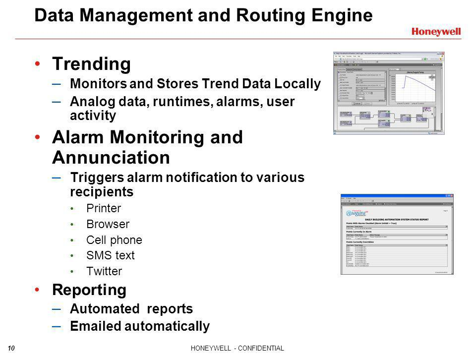 Data Management and Routing Engine