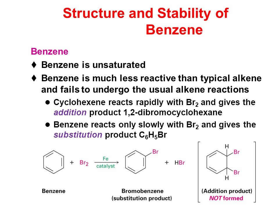 Structure and Stability of Benzene