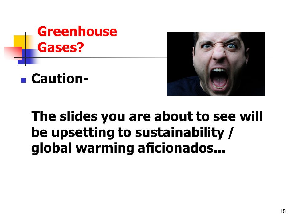 Greenhouse Gases.