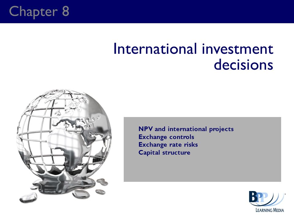 International investment decisions