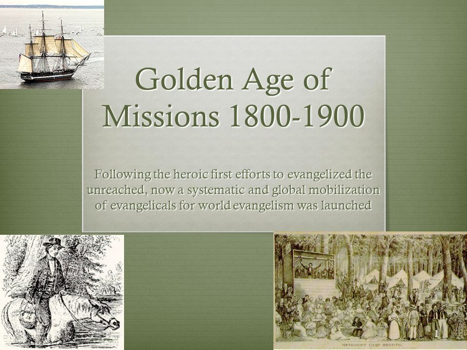 Golden Age of Missions