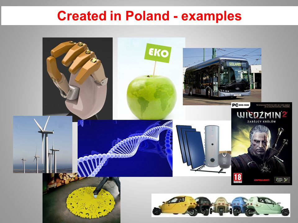 Created in Poland - examples