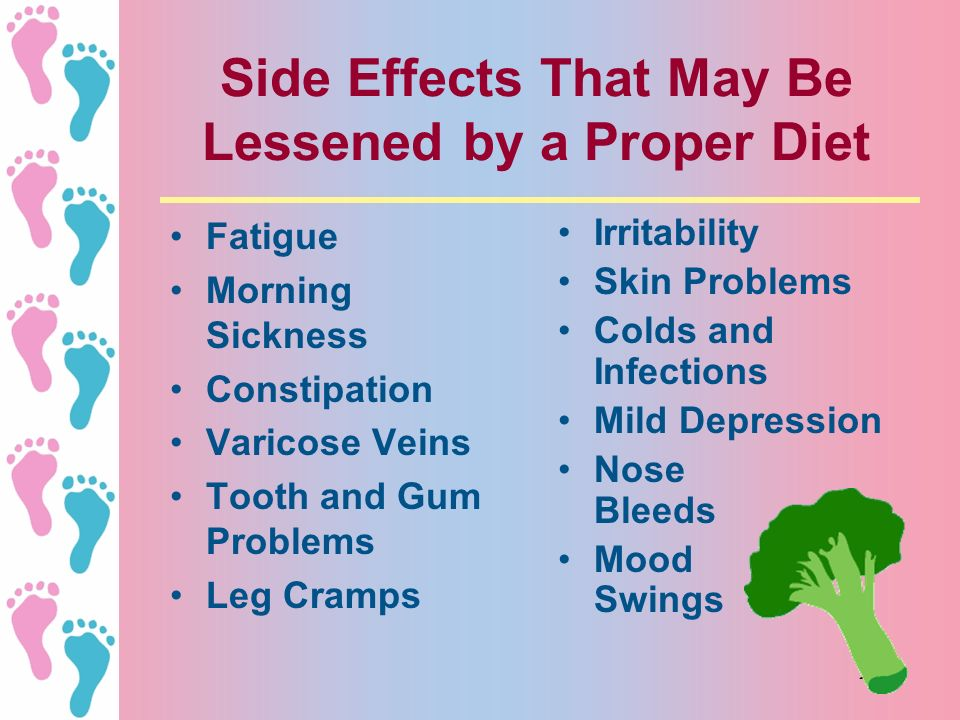Side Effects That May Be Lessened by a Proper Diet