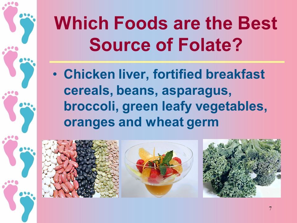 Which Foods are the Best Source of Folate