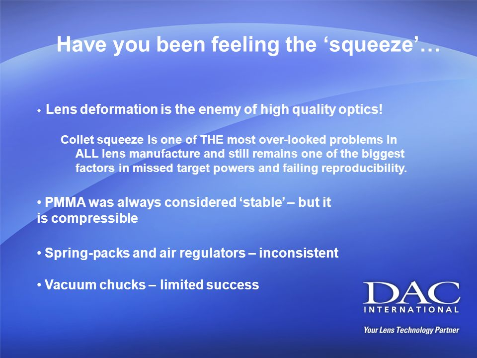 Have you been feeling the 'squeeze'…