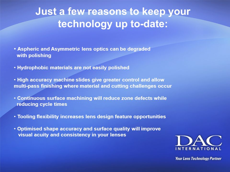 Just a few reasons to keep your technology up to-date: