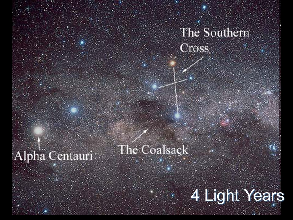 Alpha Centauri 4 Light Years