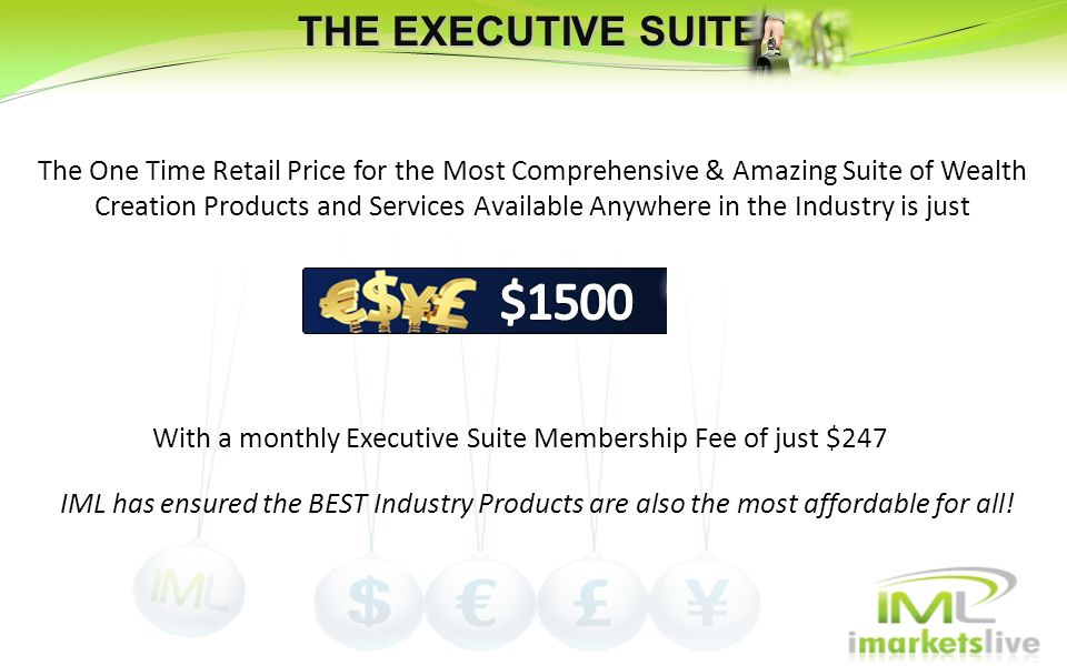 With a monthly Executive Suite Membership Fee of just $247