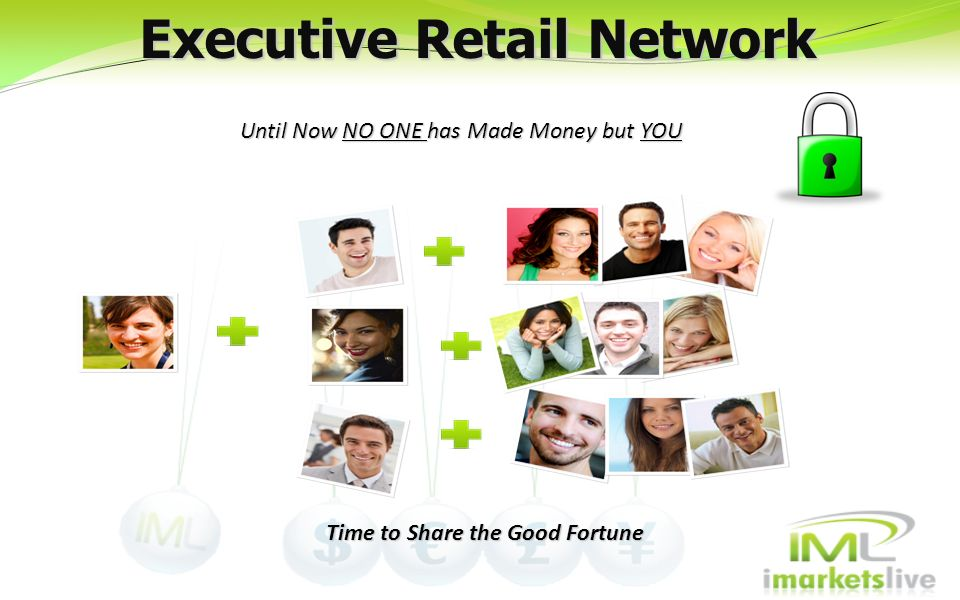 Executive Retail Network Time to Share the Good Fortune