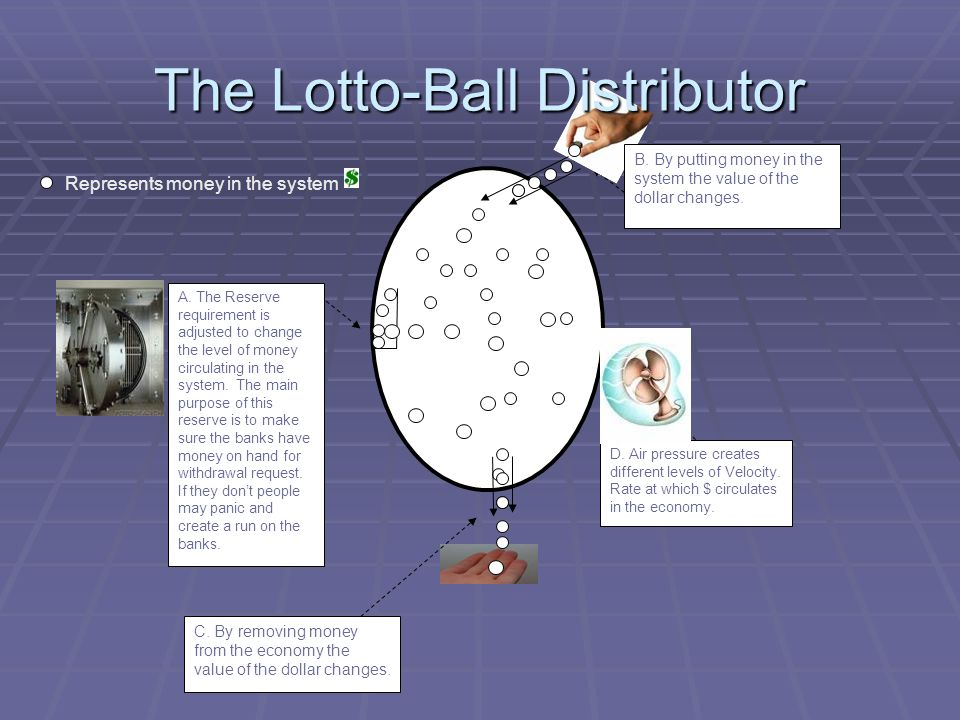 The Lotto-Ball Distributor