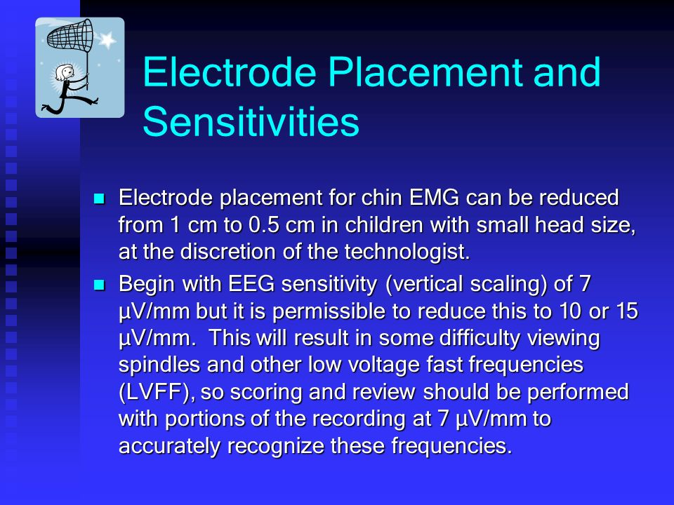Electrode Placement and Sensitivities
