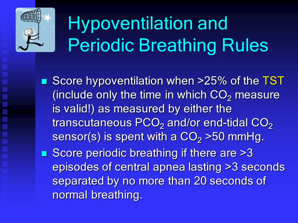 Hypoventilation and Periodic Breathing Rules
