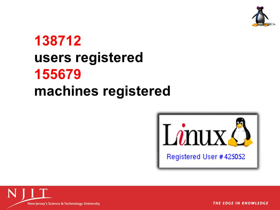 users registered machines registered