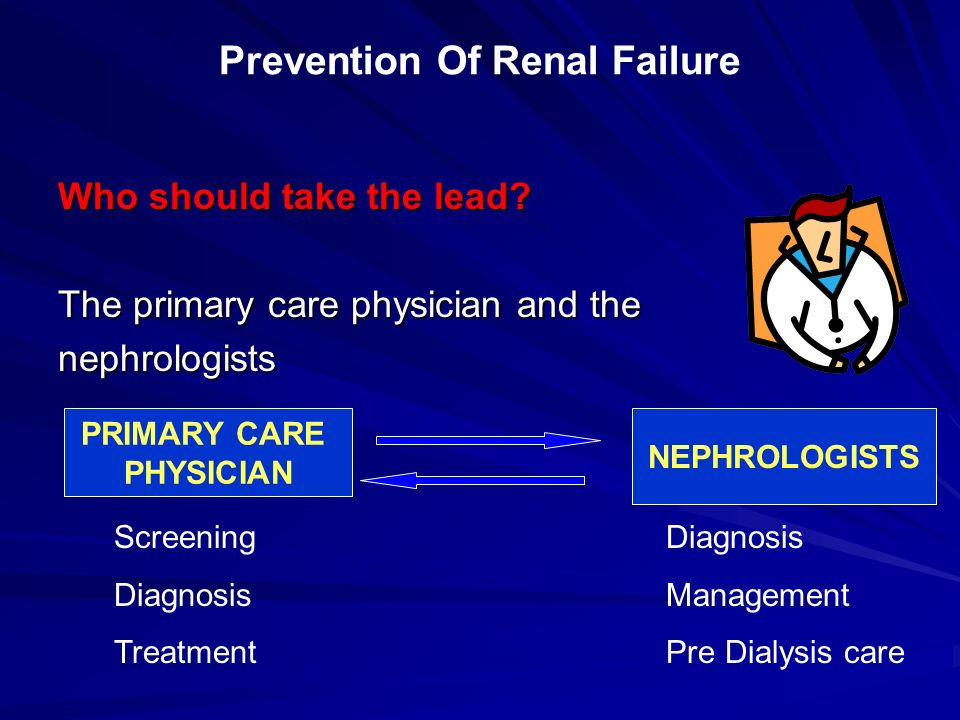 Prevention Of Renal Failure