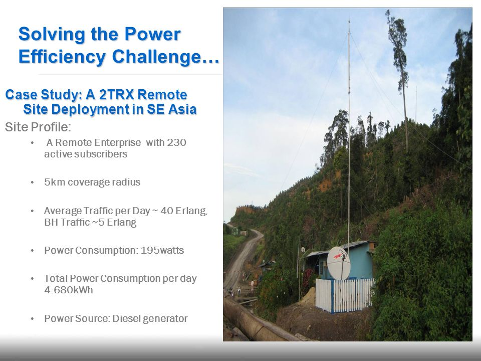 Solving the Power Efficiency Challenge…