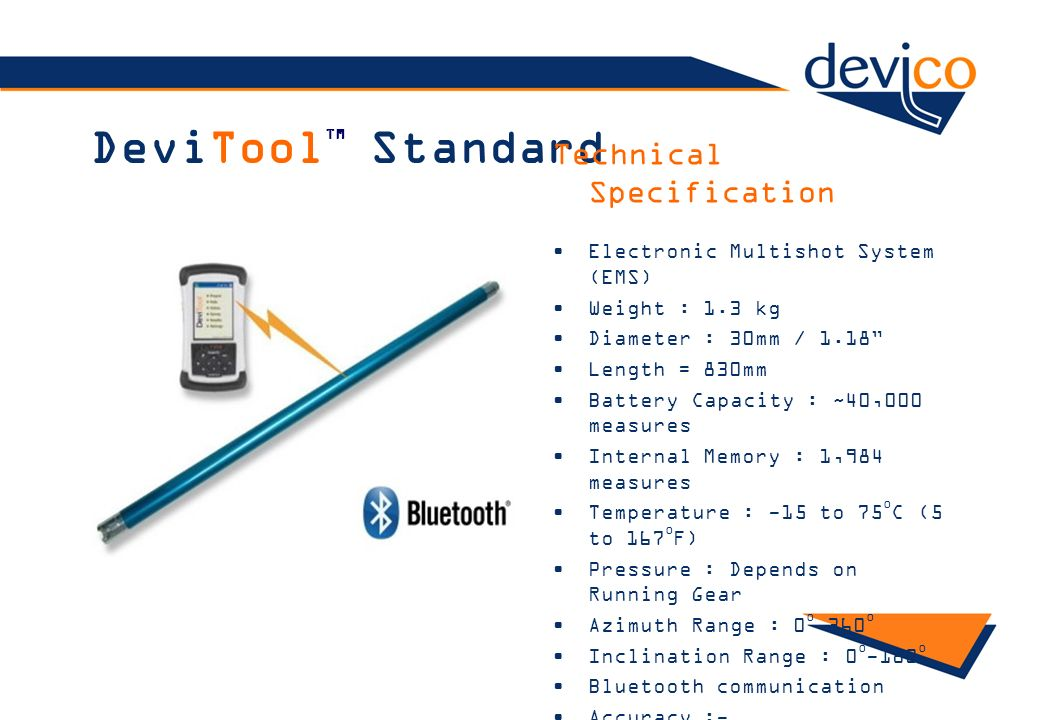 DeviToolTM Standard Technical Specification