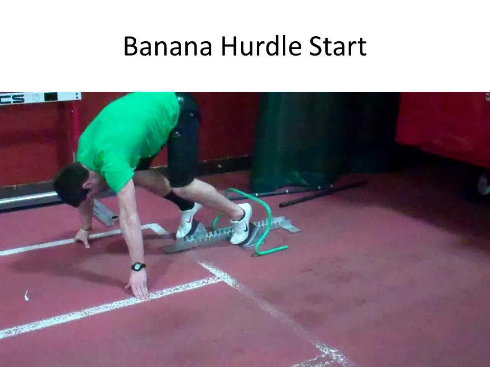 Banana Hurdle Start