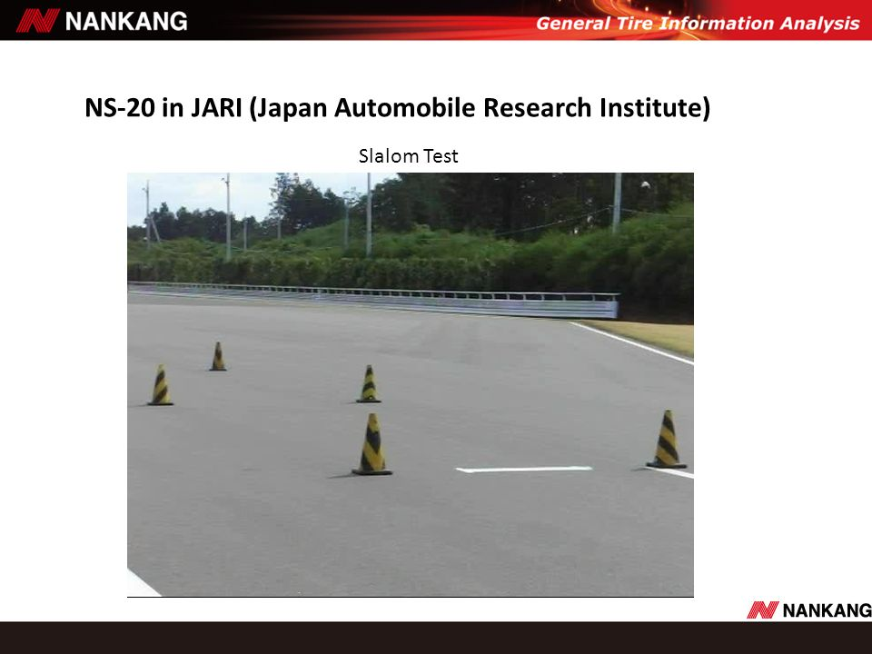 NS-20 in JARI (Japan Automobile Research Institute)