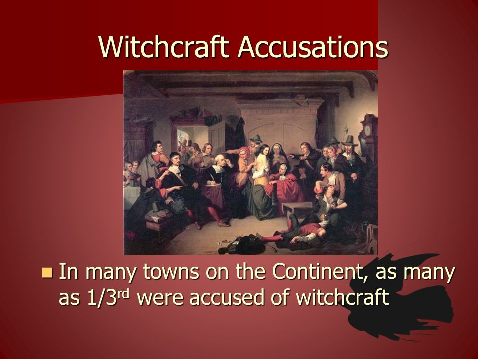 Witchcraft Accusations
