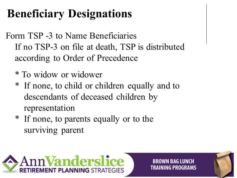 Beneficiary Designations