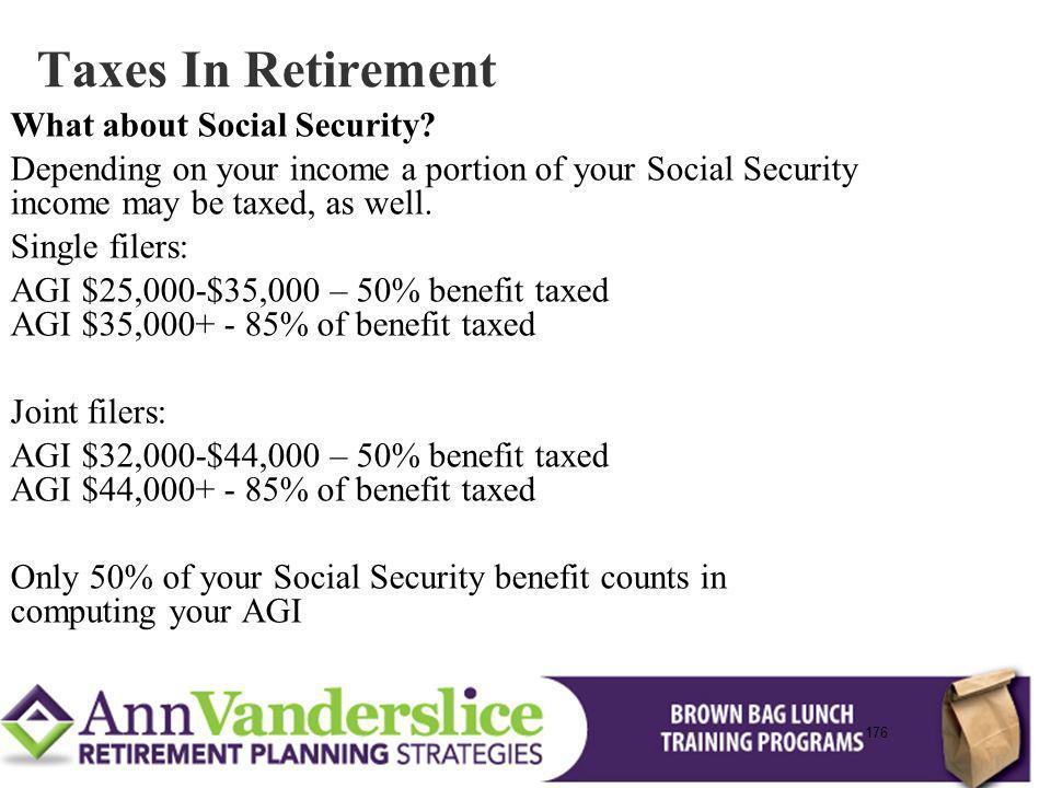 Taxes In Retirement What about Social Security