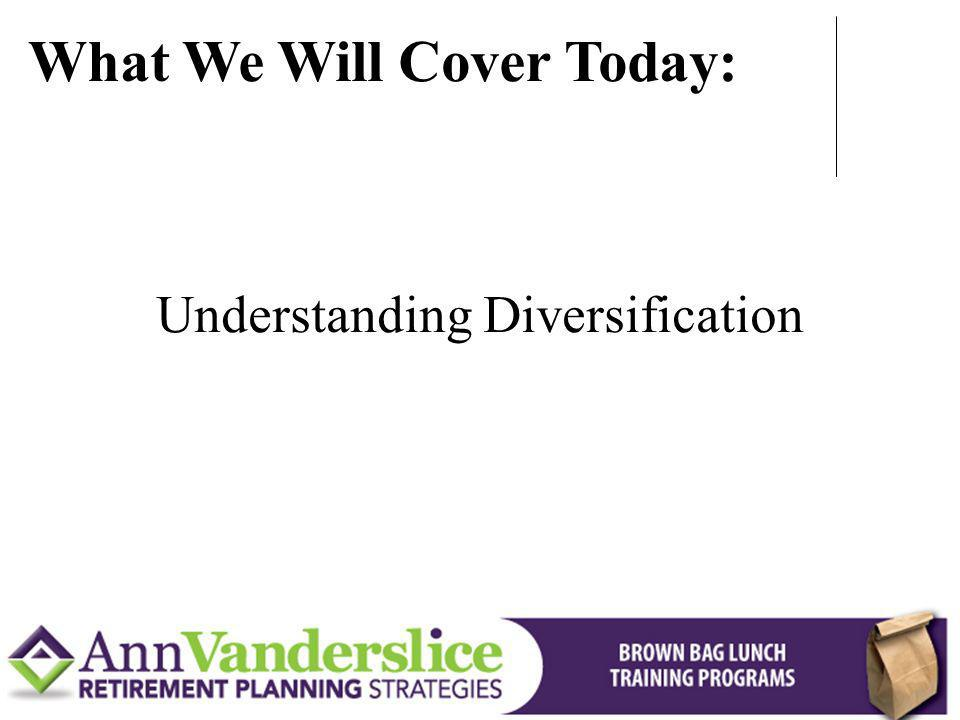 Understanding Diversification