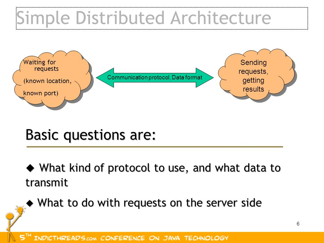 Simple Distributed Architecture