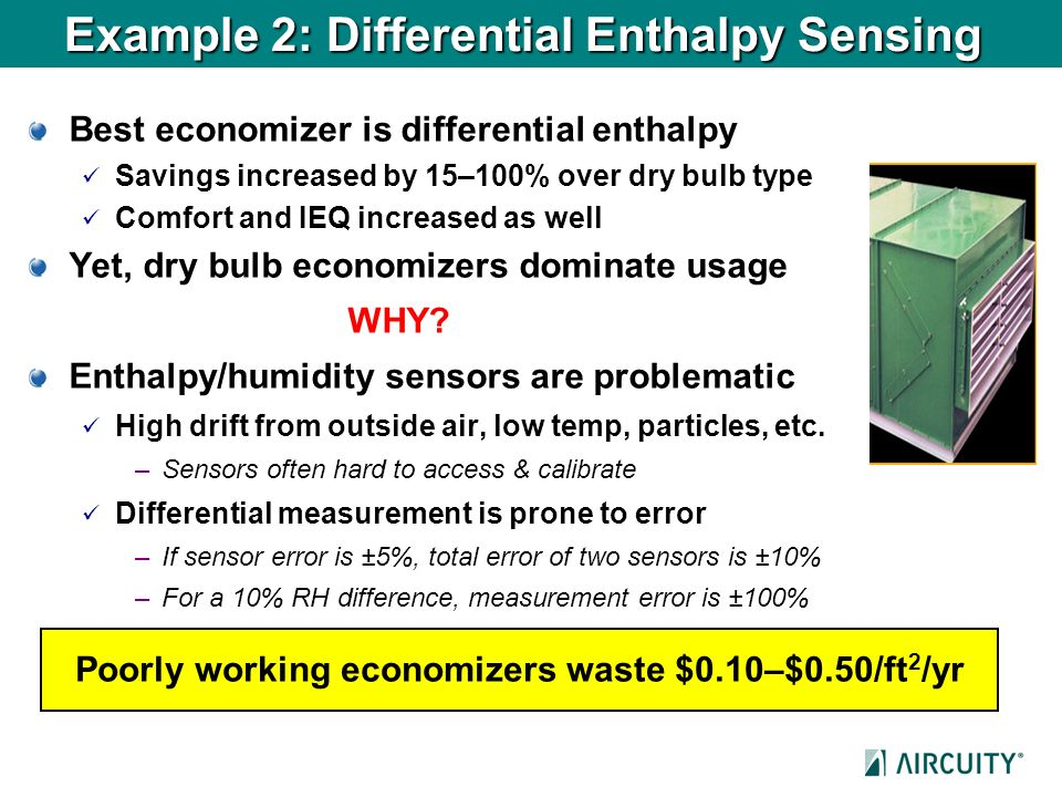 Example 2: Differential Enthalpy Sensing