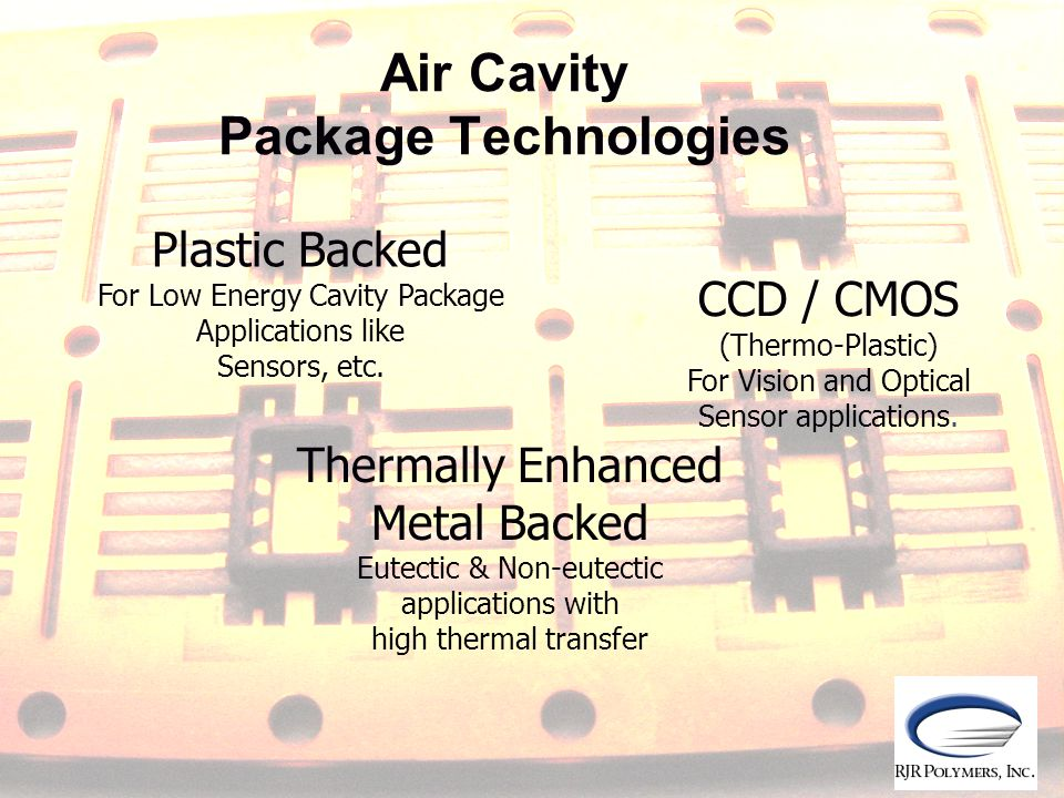 Air Cavity Package Technologies