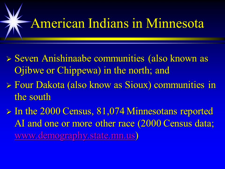 American Indians in Minnesota