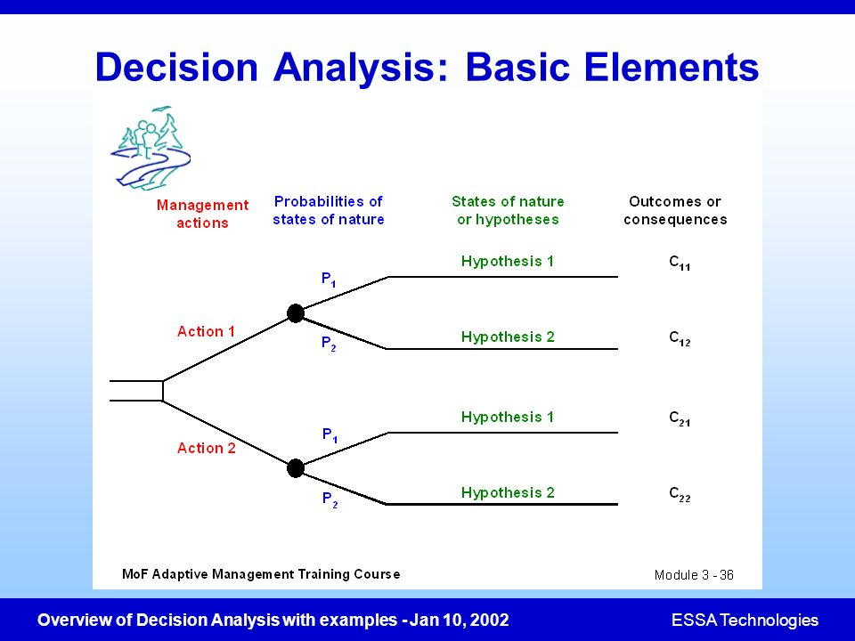 Decision Analysis: Basic Elements