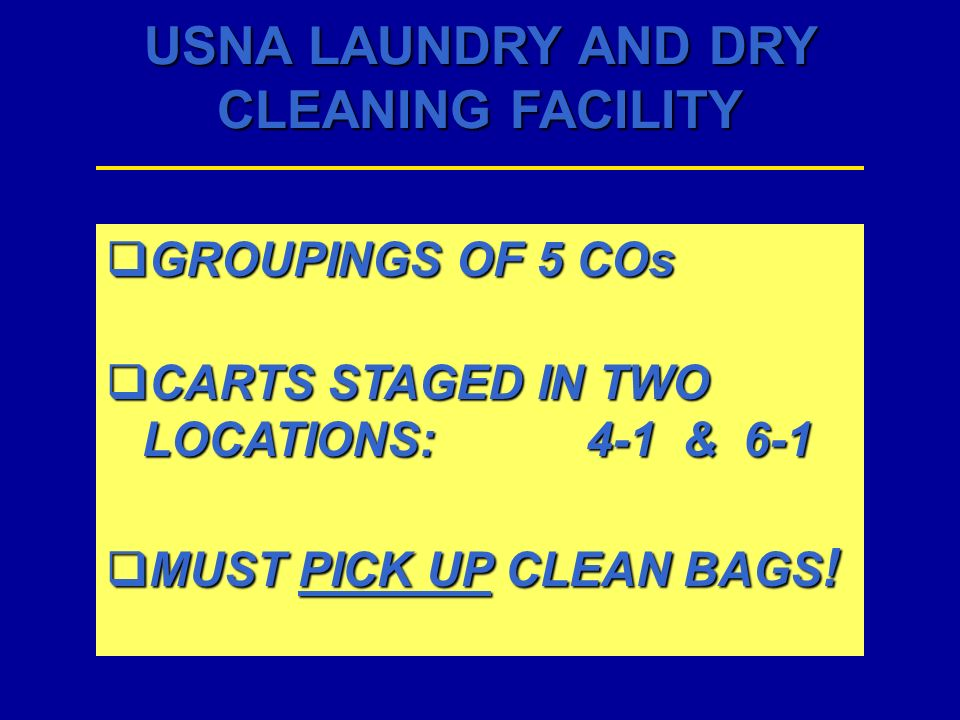 GROUPINGS OF 5 COs CARTS STAGED IN TWO LOCATIONS: 4-1 & 6-1 MUST PICK UP CLEAN BAGS!