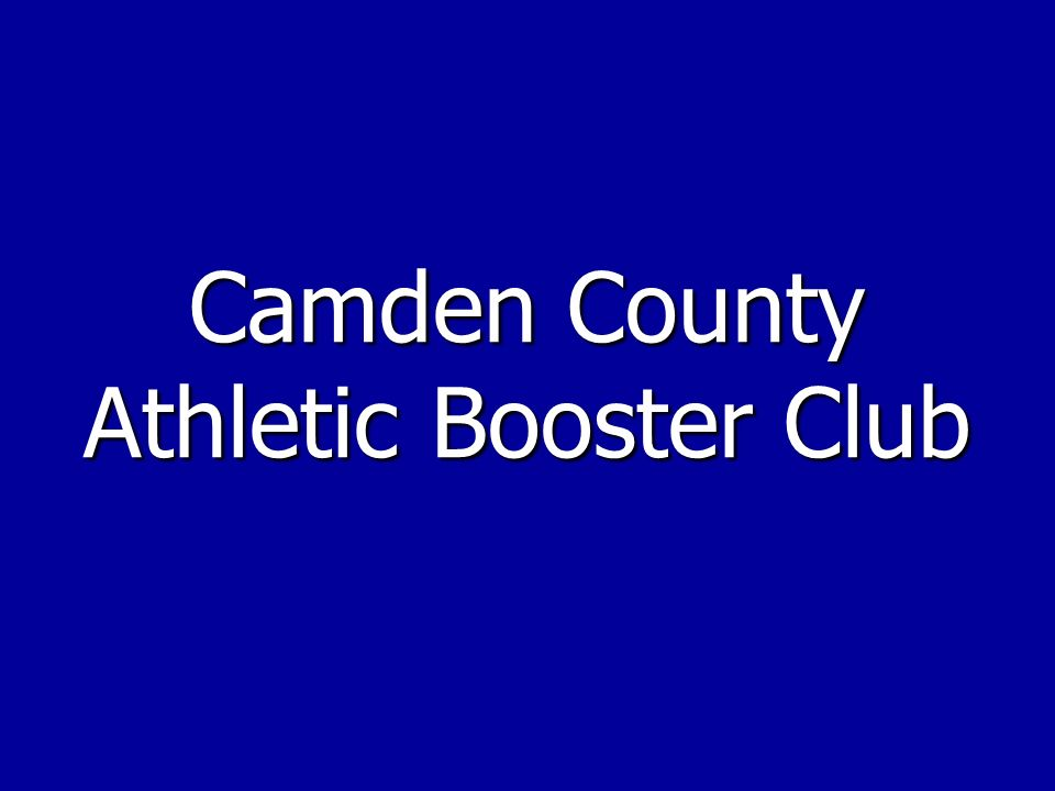 Camden County Athletic Booster Club
