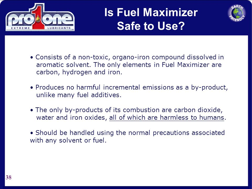 Is Fuel Maximizer Safe to Use