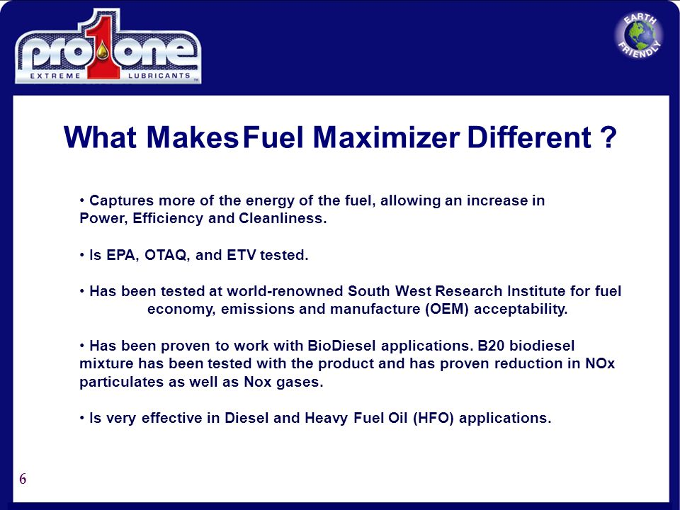 What Makes Fuel Maximizer Different