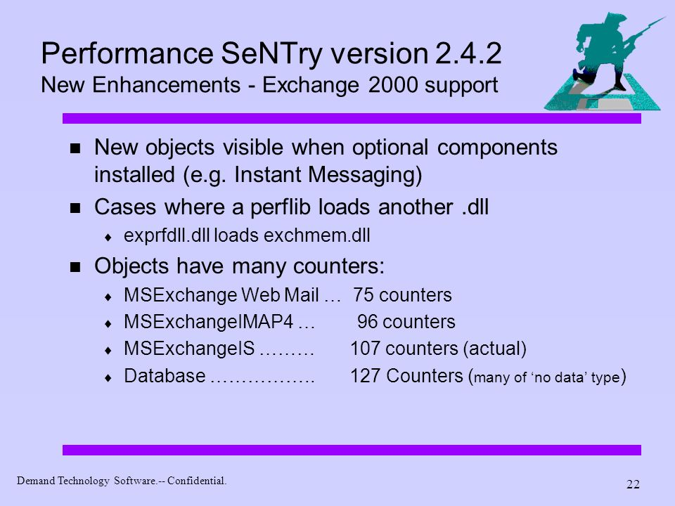 Performance SeNTry version 2. 4