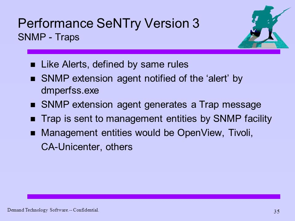 Performance SeNTry Version 3 SNMP - Traps