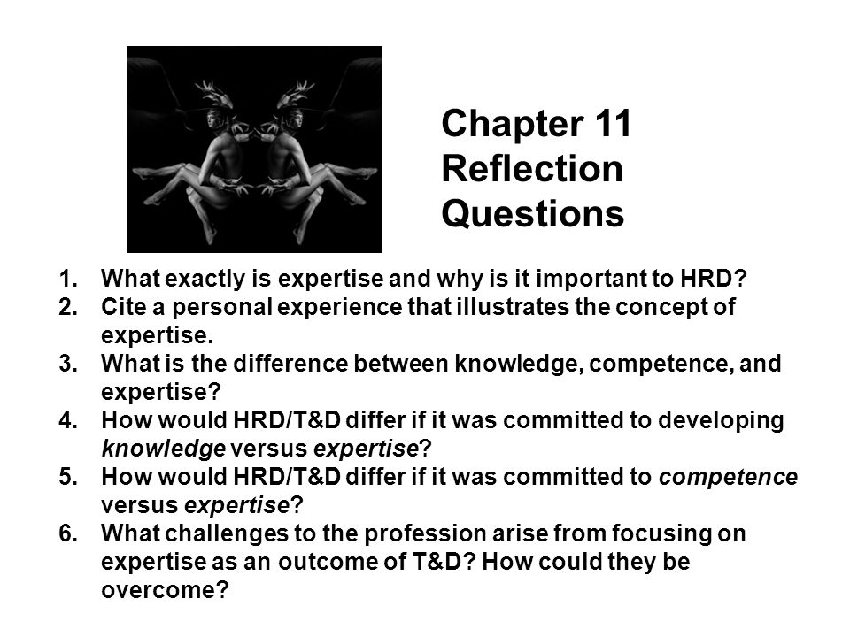 Chapter 11 Reflection Questions
