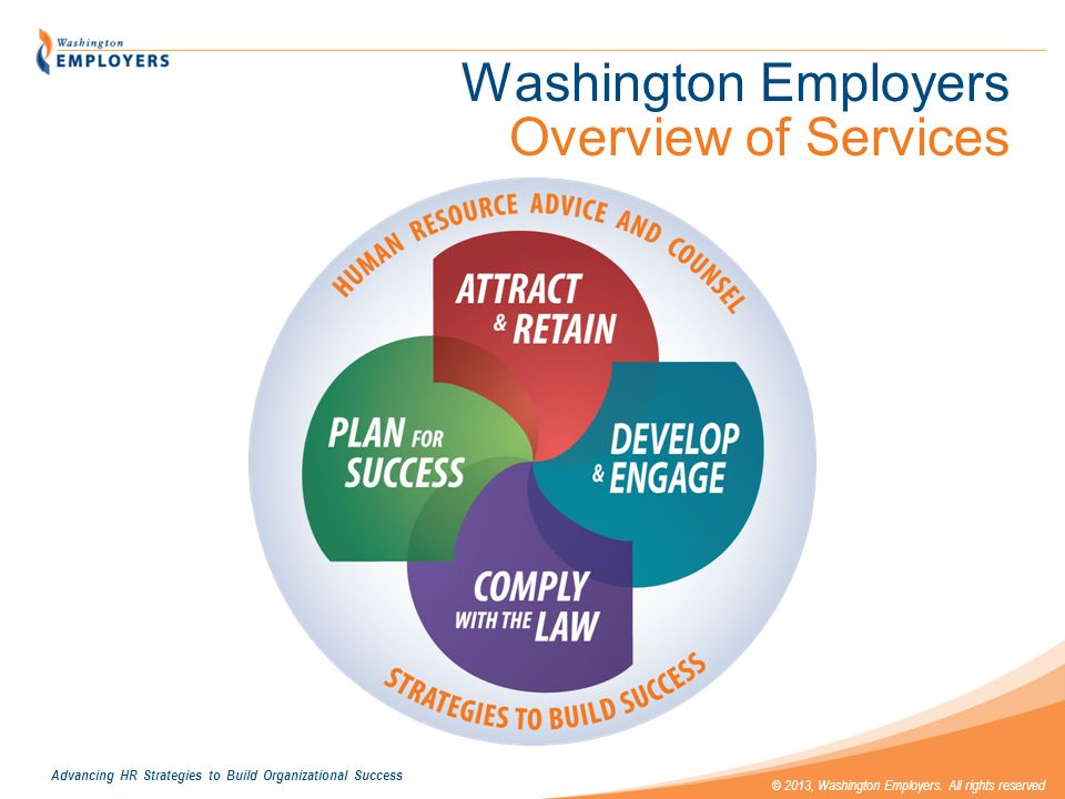 Washington Employers Overview of Services